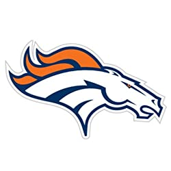 "Denver Broncos Window Film 12"" Die-Cut - Broncos Window Film"