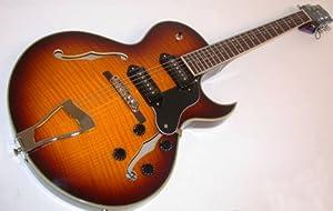 jay turser jazz guitars jt 139t vs hollow body electric guitar vintage sunburst. Black Bedroom Furniture Sets. Home Design Ideas