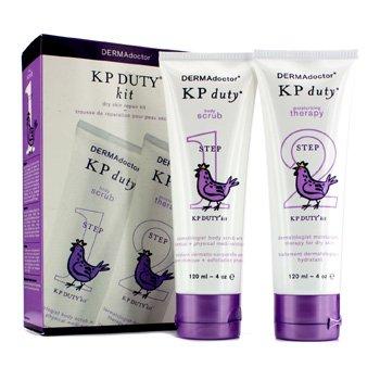 Dermadoctor Kp Duty Dry Skin Repair Kit: Body Scrub 120Ml + Moisturizing Therapy 120Ml - 2Pcs