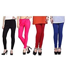Shiva collections Black/pink/red/blue cotton legging
