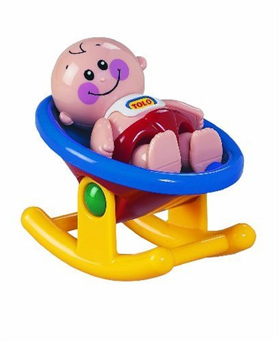 Tolo Toys First Friends Baby and Rocker