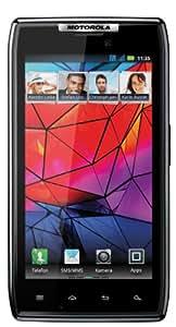 Motorola RAZR Smartphone (10,9 cm (4,3 Zoll) AMOLED Display, 8 Megapixel Kamera, Dual Core Prozessor, Micro-SIM only) schwarz