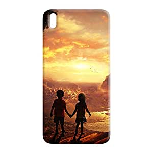 100 Degree Celsius Back Cover for HTC Desire 816 (Designer Printed Multicolor)