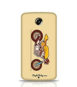 Style baby Classic Motorcycle The Cafe Racer Google Nexus 6 Phone Case