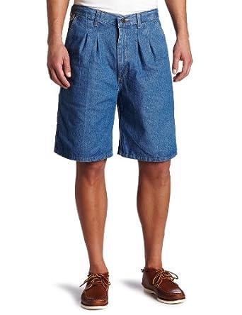 Wrangler Men's Rugged Wear Angler Short, Indigo, 30