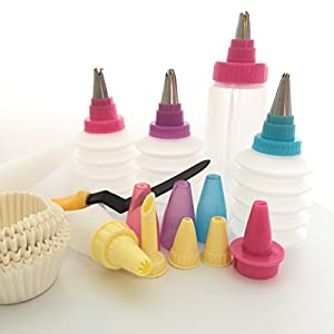 Cake Decorating Icing Dispenser : Amazon.com: Cupcake Decorating Kit - The Best Icing ...