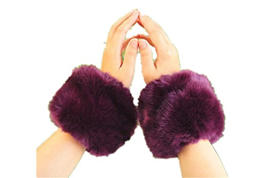 Withered-Arm Warmer Damen Armwärmer Gr. One size, violett