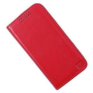 Dooda Genuine Leather Flip Case For Nokia Asha 310 (RED)