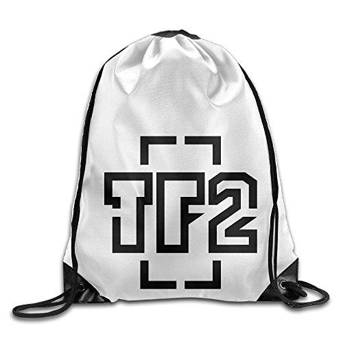 Show Time TF2 Logo Backpack Gymsack Drawstring Shoulder Bags