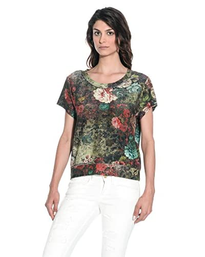 Fornarina T-Shirt Manica Corta Domiique Tee [Multicolore]