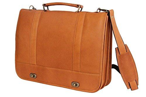 david-king-co-full-flap-turn-lock-briefcase-tan-one-size