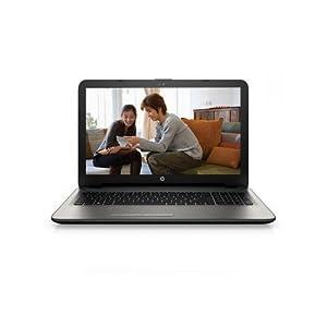 HP 15-AC072TX 15.6-inch Laptop (Core i3 4005U/4GB/1TB/Windows 8.1/2GB AMD R5 Graphics), Turbo Silver