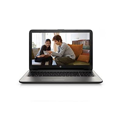 HP 15-AC026TX 15.6-inch Laptop (Core i5 5200u/4GB/1TB/DOS/2GB AMD R5 Graphics), Turbo Silver