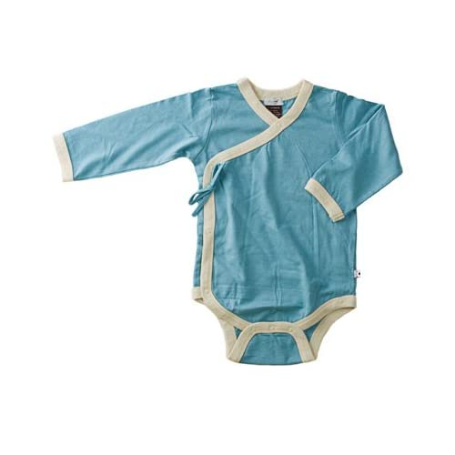 Baby Soy All-Natural Long Sleeve Kimono Bodysuit