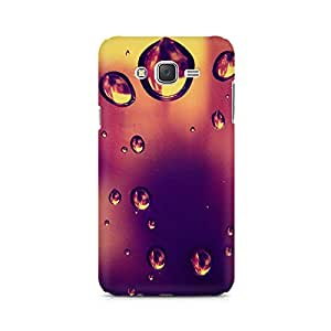 Mobicture Water Droplets Premium Printed Case For Samsung J7