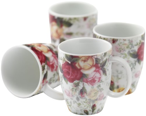 Floral Chintz Mugs