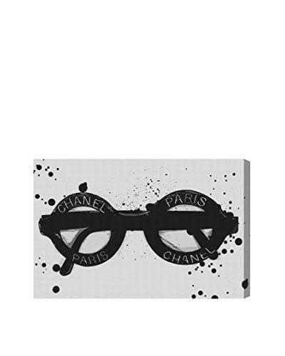 Oliver Gal Fashionable Eyes Canvas Art
