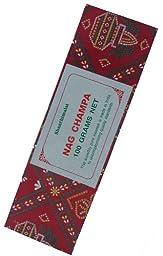 Red Nag Champa - 100 Gram Box - Shanthimalai Incense