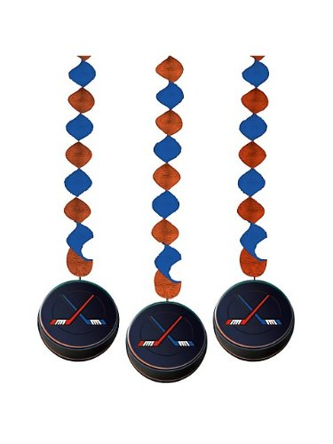Hockey Danglers Package of 3