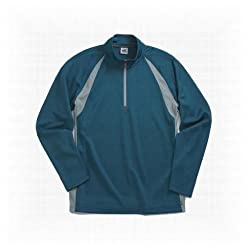 Alo Men's Long Sleeve Moisture-wicking 1/2 Zip Pullover