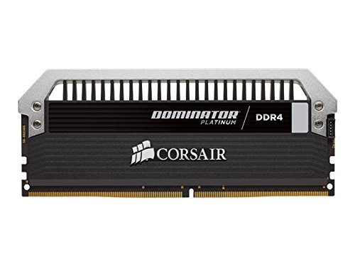 Corsair CMD16GX4M2B3000C15 Dominator Platinum Kit di Memoria da 16 GB, 2x8 GB DDR4, 3000 MHz, CL15 XMP 2.0 Enthusiast, Nero
