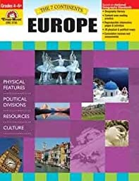 7 Continents: Europe, Grades 4-6+