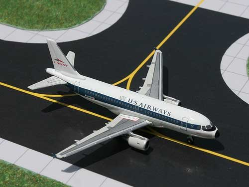 Gemini Jets US Airways Allegheny Heritage Airbus 319 Model Airplane (Us Airways Plane compare prices)