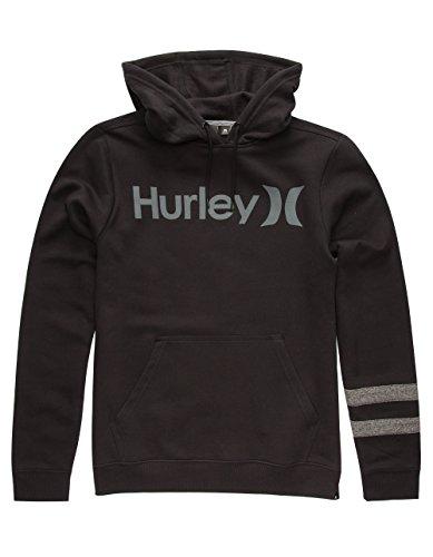 HURLEY Getaway Mens Hoodie, Black, XX-Large