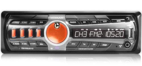 XOMAX XM-RSU210O + Autoradio inkl. MP3 WMA +