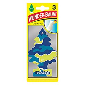 Wunderbaum 178301 Pina Colada, 3-er Pack