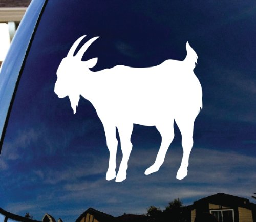 Goat Car Window Vinyl Decal