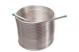 Jockey Box Coil 3/8-inch 50\' Stainless Steel Tubing by JockeyBox.com