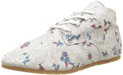 Eleven Paris Bastee, Chaussures de ville femme - Blanc (Rosace), 40 EU