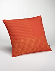Conran Quilted Grid Cushion