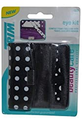 Trim Eye Kit Compact Point Tweezer W/ Case And Mirror (1 Each)