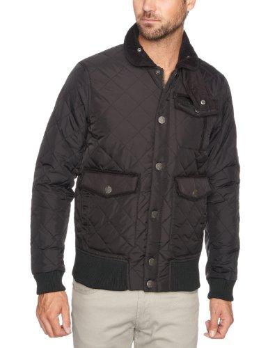 Voi Diverse Plain Men's Coat Black Medium
