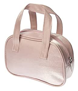 Cosmetic Bag Make up bag or Small Toiletry Bag Wash Bag -with Handles LIGHT PINK