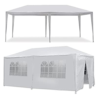Zeny® Wedding Party Tent Outdoor Camping 10'x10' Easy Set Gazebo BBQ Pavilion Canopy Cater Events