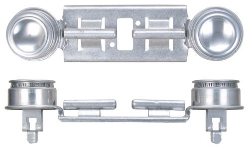 GE WB29K17/WB16K10026 Gas Range Double Burner Assembly (Stoves Double Oven compare prices)