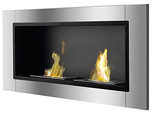 Ventless Ethanol Fireplace - Lata, Recessed Ethanol Fireplace By Ignis
