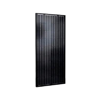 Instapark® All Black 130W Mono-crystalline Solar Panel, 130 watt by Instapark
