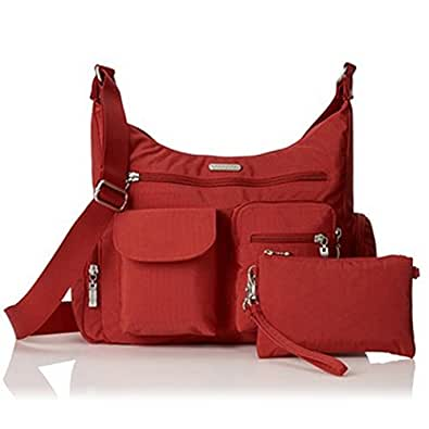 Baggallini Nylon Everywhere Shoulder Handbag Bag