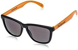 Knockaround Wayfarer Sunglasses (Black and Orange ) (PRTH1005 52)