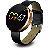 Megadream Bluetooth 4.0 Splash Waterproof Smart Watch With Heart Rate Monitor Pedometer Gestures Voice Control... - B01DBKV9QE