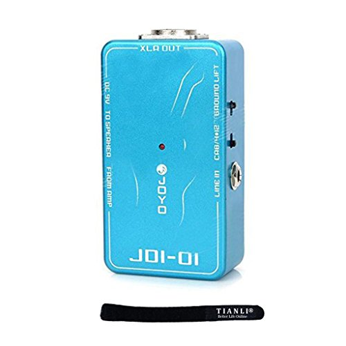 Tianli(Tm) Joyo Jdi-01 Di Box With Amp Simulation For Acoustic/Electric Guitar Or Line Level Signal With Retail Package,With Tianli Cable Tie Gift