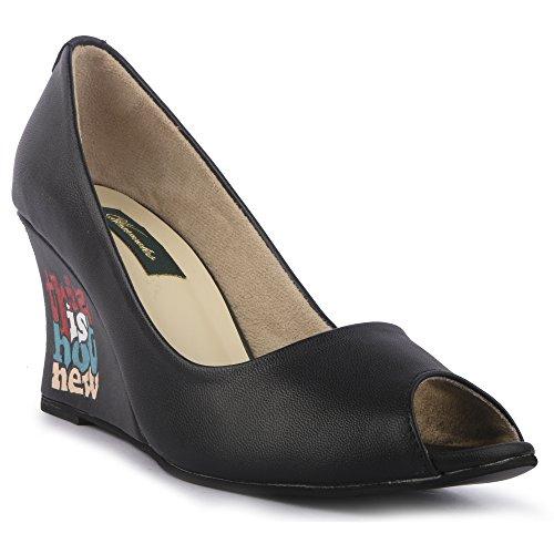Wearmates HOT NEW Designer Peeptoe Wedges Heels