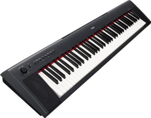 Yamaha NP31 Portable Keyboard - Black