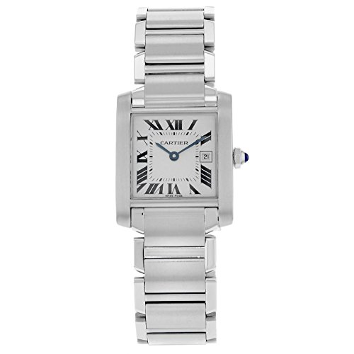 Cartier Tank Francaise W51011Q3 Stainless Steel Quartz Ladies watch