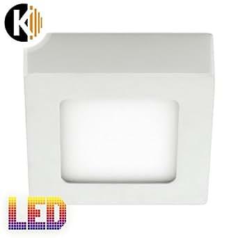 kwazar leuchte 6w 475lm smd warmweiss kaltweiss ultraslim d nn aufbau leuchte led panel. Black Bedroom Furniture Sets. Home Design Ideas