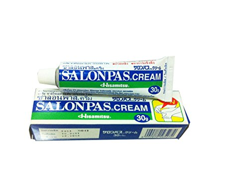3 Packs of Salonpas Cream, Cream for Relief of Minor Aches and Pain. (30 G/pack) (From Gecko Feet To Adhesive Tape compare prices)
